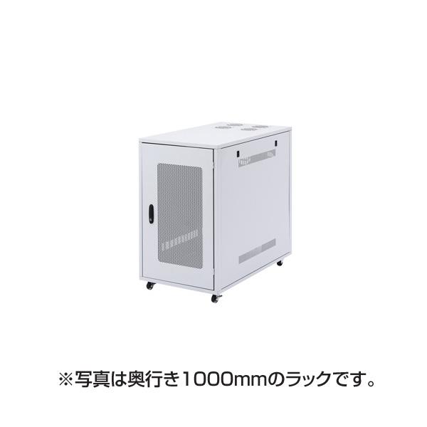 【代引不可】サンワサプライ:小型19インチサーバーラック(18U) CP-SV7N
