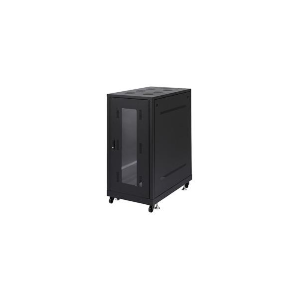 【代引不可】サンワサプライ:19インチサーバーラック(24U) CP-SVN2410BK