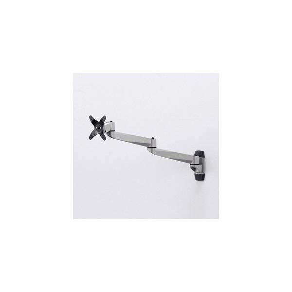 サンワサプライ:水平多関節液晶モニターアーム(壁面用) CR-LA1001N
