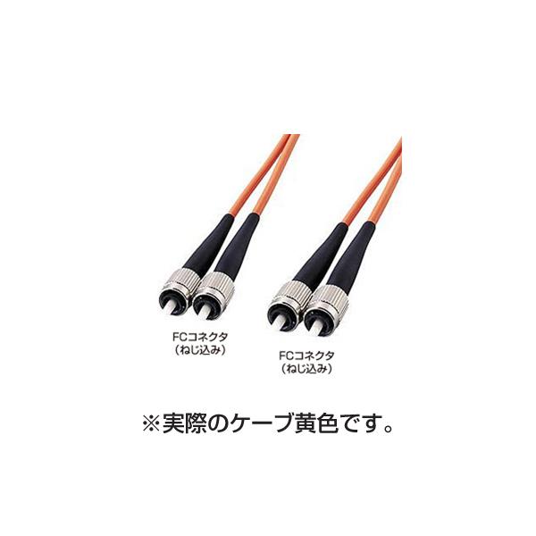 サンワサプライ:光ファイバケーブル(3m) HKB-FF1W-3