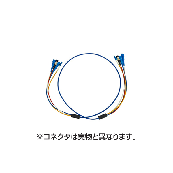 サンワサプライ:ロバスト光ファイバケーブル HKB-LCLCRB1-20