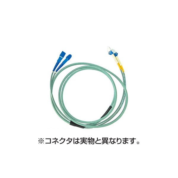 【代引不可】【受注生産品】サンワサプライ:タクティカル光ファイバケーブル HKB-LCLCTA5-50