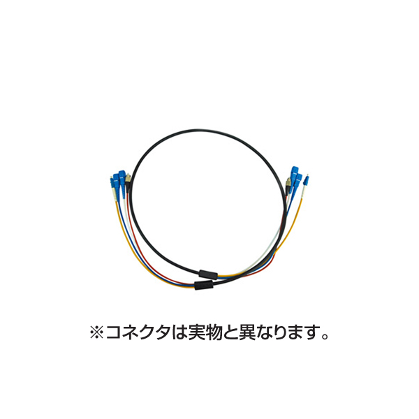 サンワサプライ:防水ロバスト光ファイバケーブル HKB-LCLCWPRB1-10