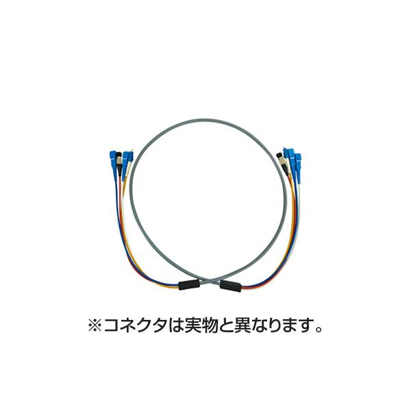 サンワサプライ:防水ロバスト光ファイバケーブル HKB-LCLCWPRB5-10