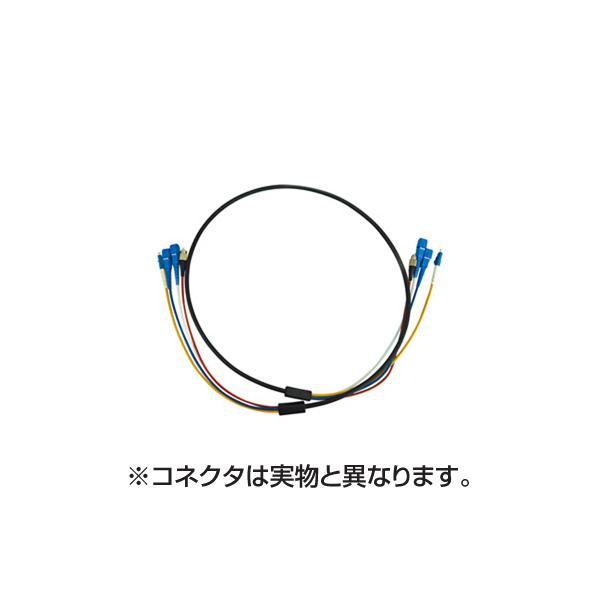 【代引不可】【受注生産品】サンワサプライ:防水ロバスト光ファイバケーブル HKB-SCSCWPRB1-10