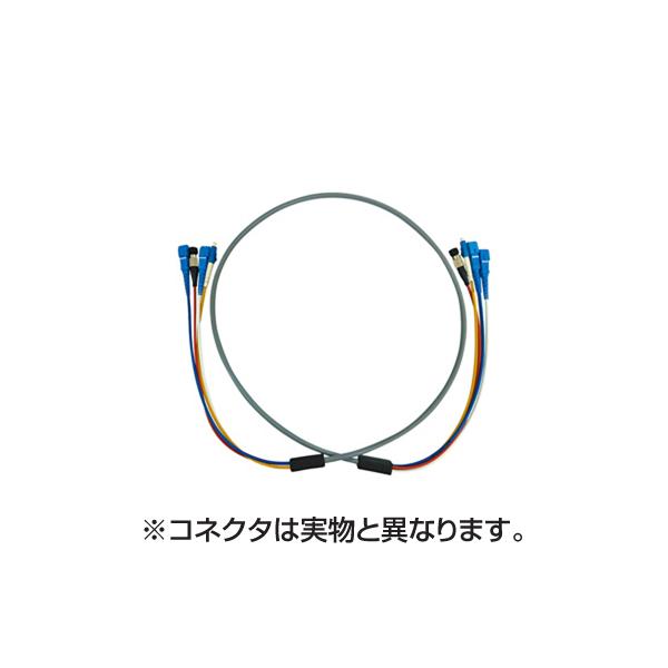サンワサプライ:防水ロバスト光ファイバケーブル HKB-SCSCWPRB5-50