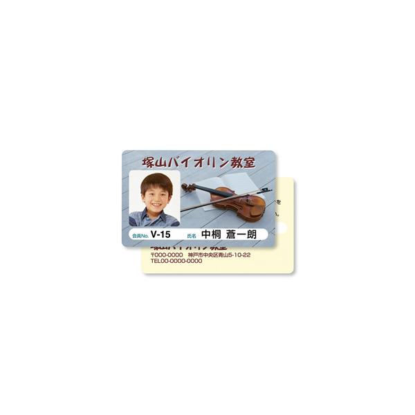 サンワサプライ:インクジェット用IDカード(穴なし)100シート入り JP-ID03-100
