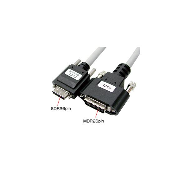 【代引不可】【受注生産品】サンワサプライ:カメラリンクPoCL細径ケーブル KB-CAMPO-02