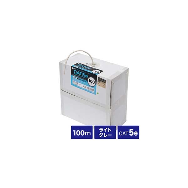 サンワサプライ:カテゴリ5eUTP単線ケーブルのみ KB-T5-CB100N