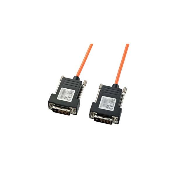 サンワサプライ:DVI光ファイバケーブル(シングルリンク)50m KC-DVI-FB50