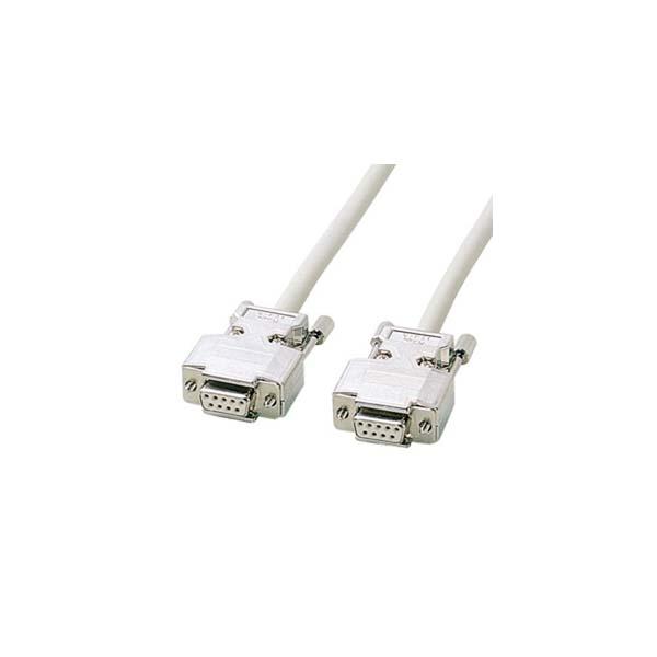 サンワサプライ:RS-232Cケーブル KRS-403XF10N
