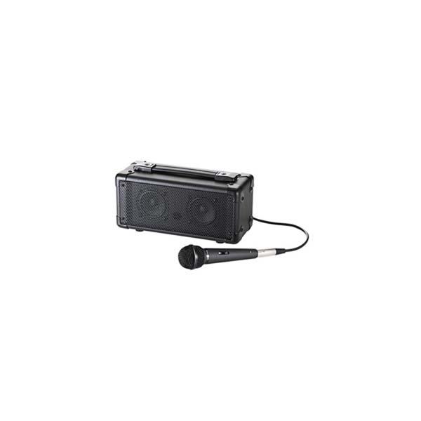 【代引不可】サンワサプライ:マイク付き拡声器スピーカー MM-SPAMP