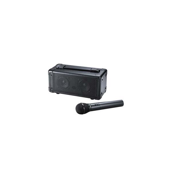 【代引不可】サンワサプライ:ワイヤレスマイク付き拡声器スピーカー MM-SPAMP4