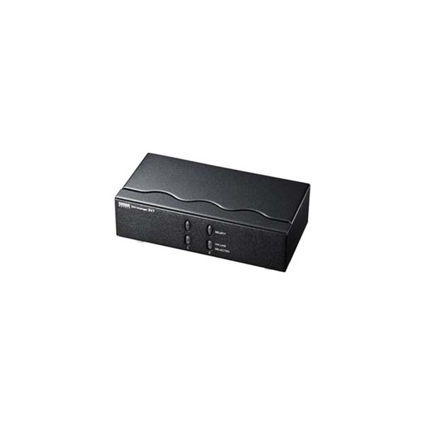 【代引不可】サンワサプライ:ディスプレイ切替器(DVI24pin用)・2回路 SW-EDV2N