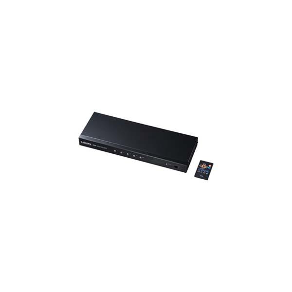 【代引不可】サンワサプライ:HDMI切替器(4入力2出力・分配器機能付き) SW-HD42ASP