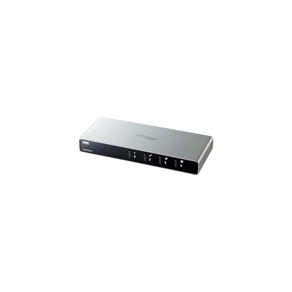 サンワサプライ:パソコン自動切替器(4:1) SW-KVM4LUN