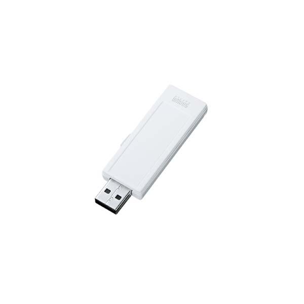 サンワサプライ:USB2.0メモリ(16G、手書き可能) UFD-RNS16GW