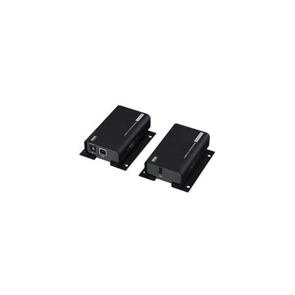 【代引不可】サンワサプライ:USB2.0エクステンダー USB-EXSET1
