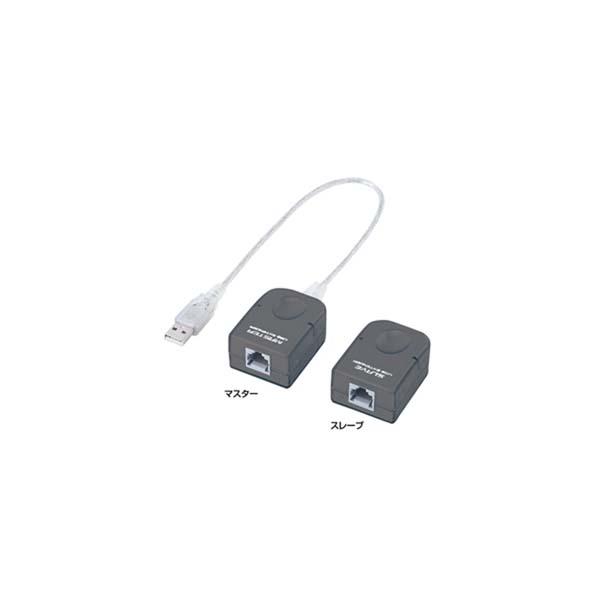 サンワサプライ:USBエクステンダ- USB-RP40