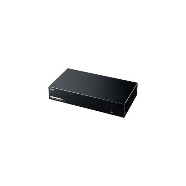 サンワサプライ:AVエクステンダー(送信機・4分配) VGA-EXAVL4
