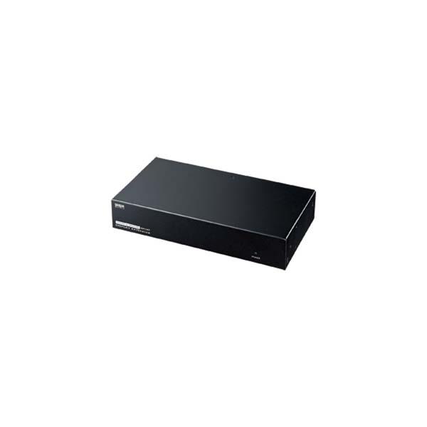 サンワサプライ:AVエクステンダー(送信機・8分配) VGA-EXAVL8