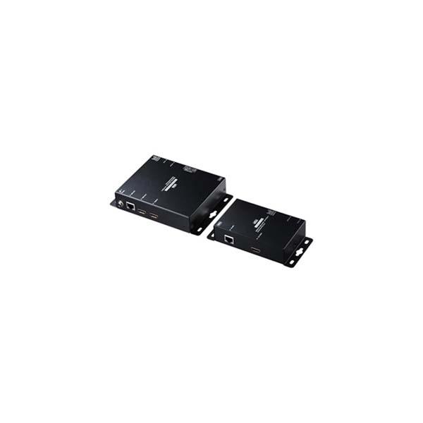 サンワサプライ:PoE対応HDMIエクステンダー(セットモデル) VGA-EXHDPOE2