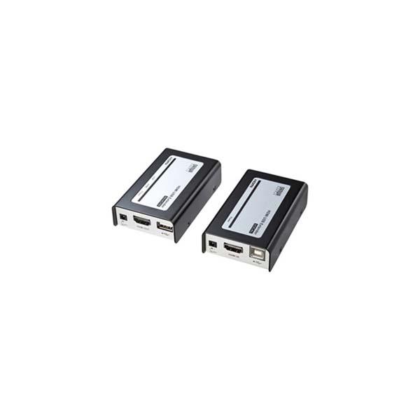 サンワサプライ:HDMI+USB2.0エクステンダー VGA-EXHDU