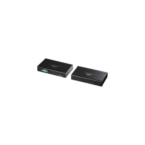 サンワサプライ:KVMエクステンダー(USB用・セットモデル) VGA-EXKVMU