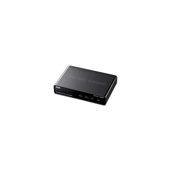 【代引不可】サンワサプライ:4K2K対応HDMI分配器(2分配) VGA-UHDSP2