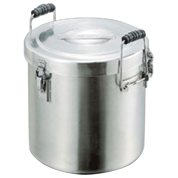 厨房用品 4589504457146 スギコ産業:スギコ 18-8二重式保温食缶 SH-2027-16N