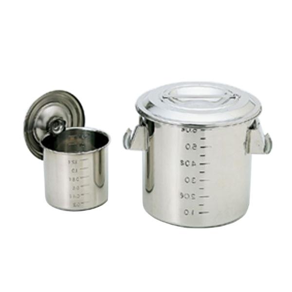 スギコ産業:スギコ 18-8目盛付深型キッチンポット(手付) SH-4636