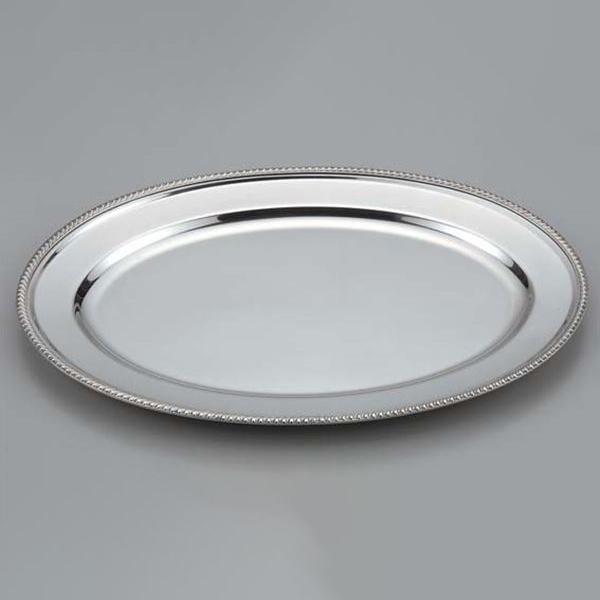 スギコ産業:スギコ 18-8菊渕小判皿 SH-0024-G 24インチ ST0504