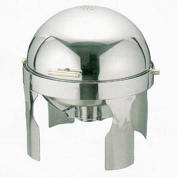 スギコ産業:スギコ 18-8回転カバー付 丸 チェーフィングディッシュ SH-4100N ST0665