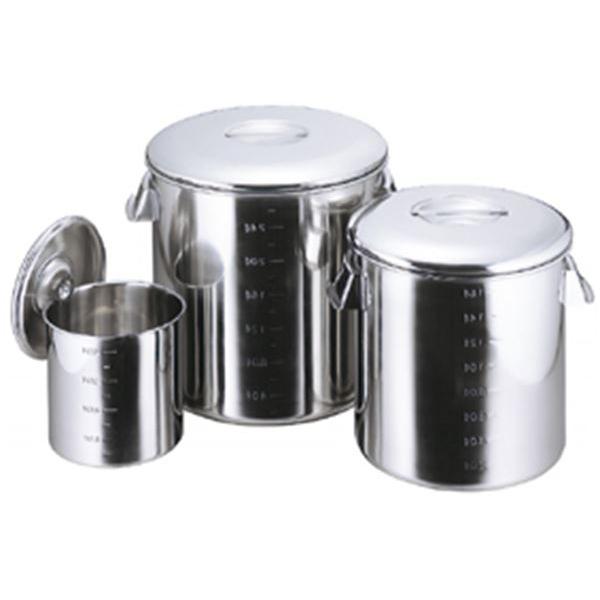 スギコ産業:スギコ モリブデン キッチンポット(内蓋式・目盛付) SH-4836D(手付)
