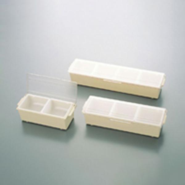 スギコ産業:コンジメントディスペンサー(ワイドタイプ) 4742(3ヶ入) アーモンド