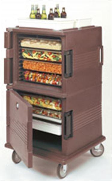 スギコ産業:キャンブロ ウルトラカムカート(フードパン用) UPC1600ダークブラウン