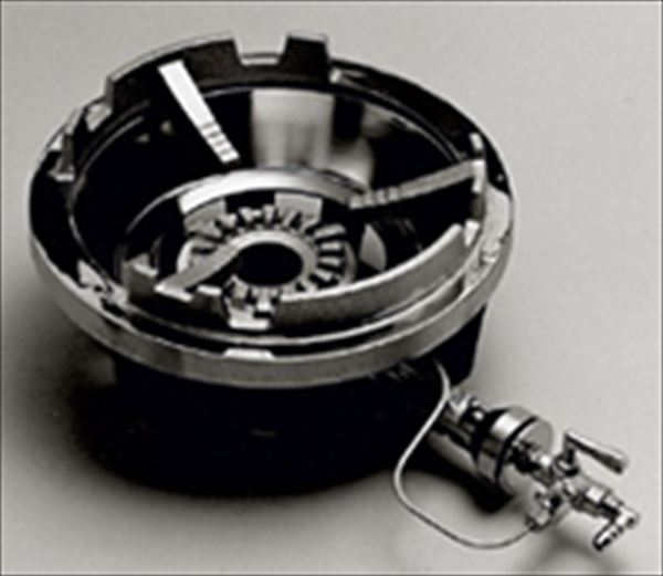 サントク:鋳物コンロ(フラッシュバーナー) 平型五徳 ガス種: FG-2
