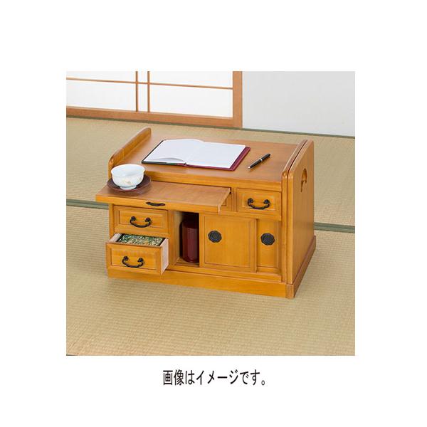 【代引不可】サン・ハーベスト:伸長式小袖机 KP-4300