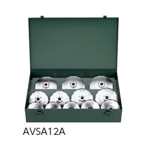 KTC:カップ型オイルフィルタレンチセット(12コ組) AVSA12A