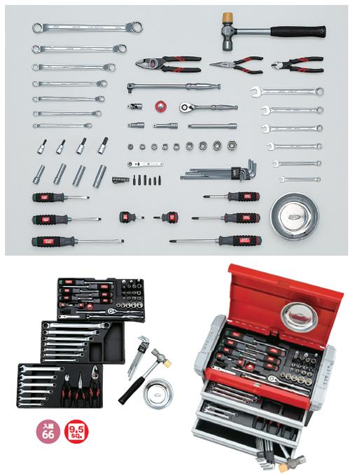 KTC:工具セット(チェストタイプ) SK3650EZ