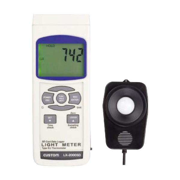 カスタム:データロガー照度計 LX-2000SD