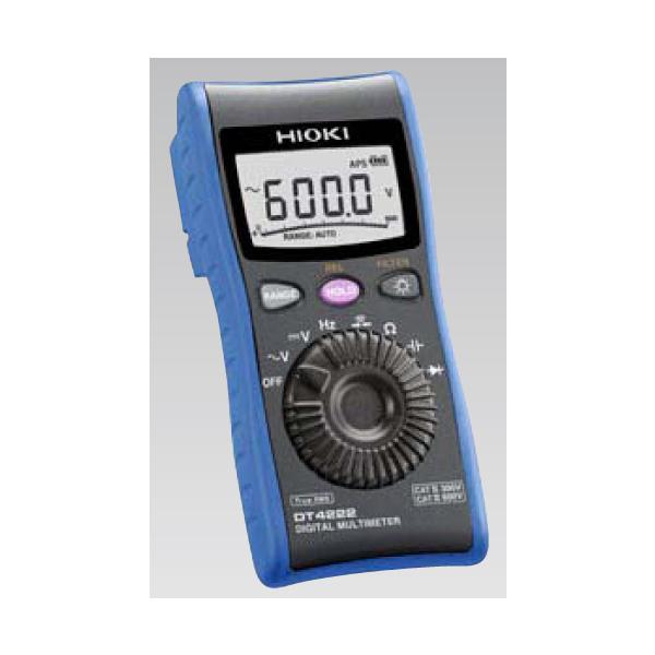 日置電機:デジタルマルチメータ DT4222