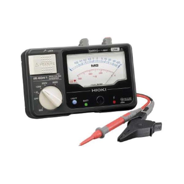 日置電機:4レンジアナログメガー IR4041-10