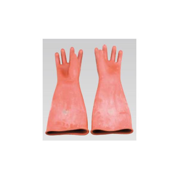 ヨツギ:高圧ゴム手袋 455mm 大 YS-101-21-01