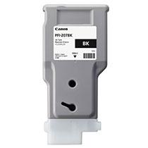 Canon(キヤノン):インクタンク PFI-207 染料ブラック 300ml 8789B001 1個 3265239