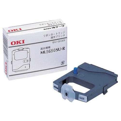 沖データ:ML5650SU-R用インクリボン 黒 RN6-00-009 1箱(6本) 0275675
