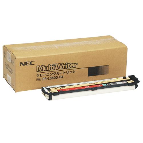 NEC(日本電気):クリーニングカートリッジ PR-L6600-34 1個 0293297