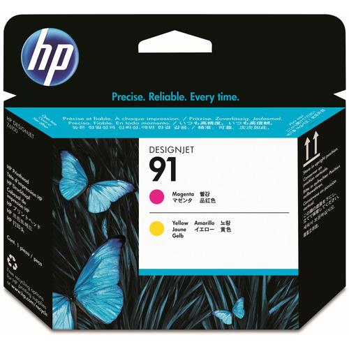 hp(ヒューレット・パッカード):HP91 プリントヘッド マゼンタ/イエロー C9461A 1個 0345231