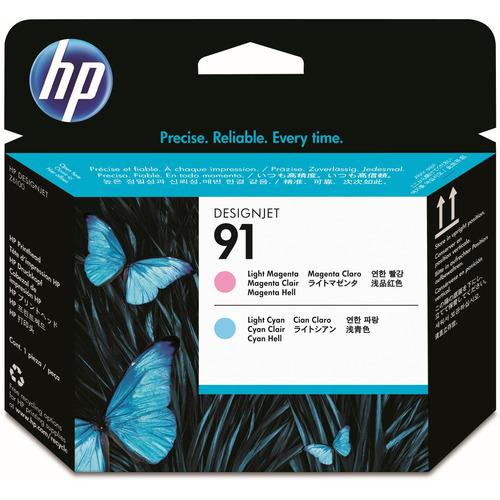 hp(ヒューレット・パッカード):HP91 プリントヘッド ライトマゼンタ/ライトシアン C9462A 1個 0345248