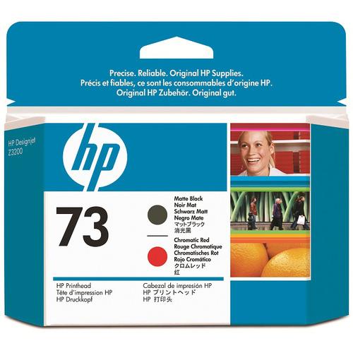 hp(ヒューレット・パッカード):HP73 プリントヘッド マットブラック/クロムレッド CD949A 1個 0356909
